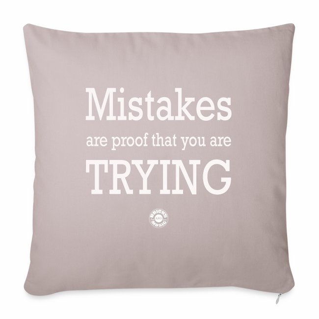 MISTAKES are not a WRONG WAY