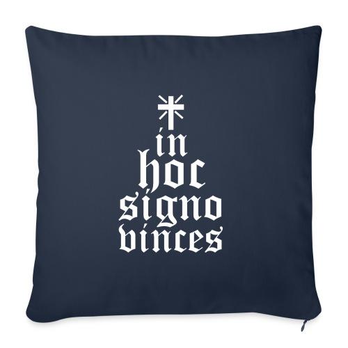 In hoc signo B - Copricuscino per divano, 45 x 45 cm