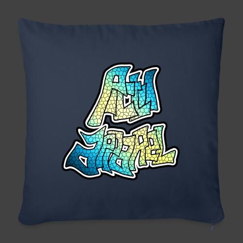 PA LOGO - 5 - Sofa pillowcase 17,3'' x 17,3'' (45 x 45 cm)
