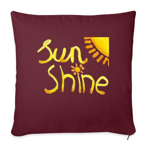 Sunshine - Sierkussenhoes, 45 x 45 cm