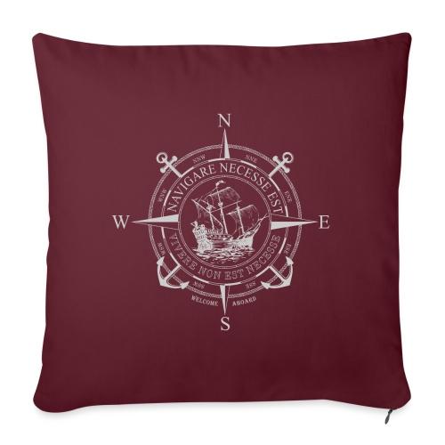 NAVIGARE - Sofa pillowcase 17,3'' x 17,3'' (45 x 45 cm)