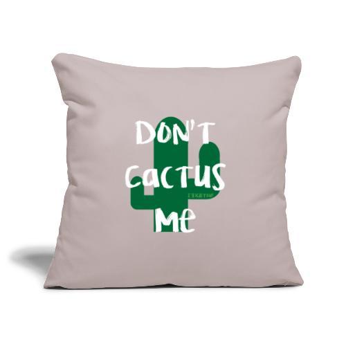 Dont cactus me - Sierkussenhoes, 45 x 45 cm
