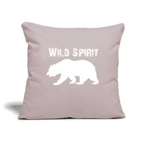 Wild Spirit - Bear - Sierkussenhoes, 45 x 45 cm