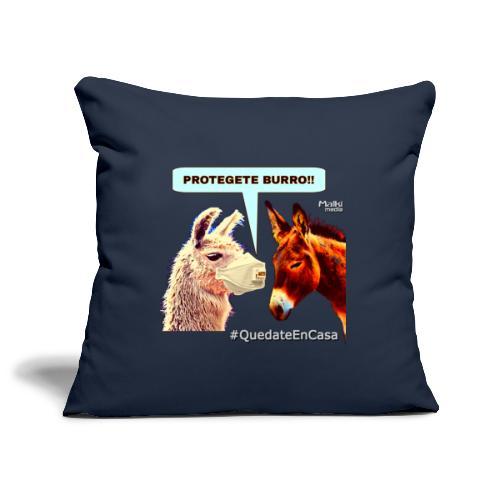 PROTEGETE BURRO - Sofa pillowcase 17,3'' x 17,3'' (45 x 45 cm)