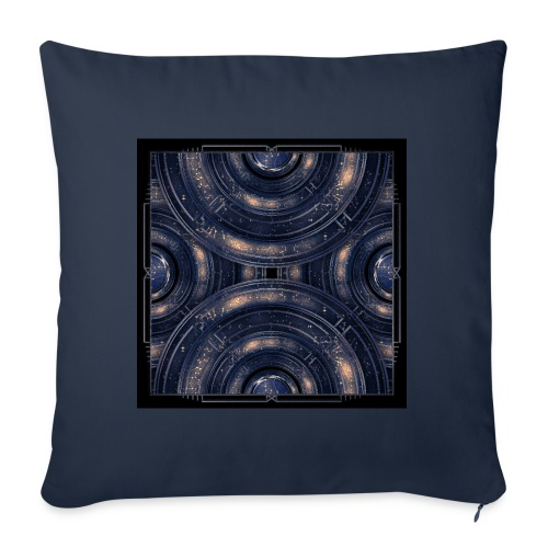 Out of the Blue - Cosmos Kosmos - Sofa pillowcase 17,3'' x 17,3'' (45 x 45 cm)