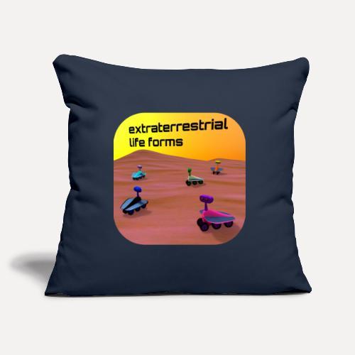 Leben auf dem Mars - Sofa pillowcase 17,3'' x 17,3'' (45 x 45 cm)