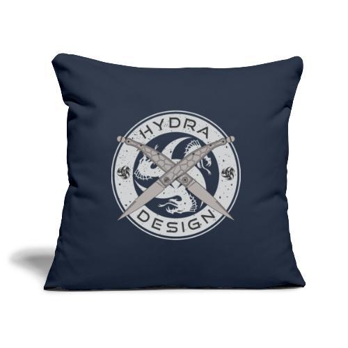 Hydra Design Roman Knives - Copricuscino per divano, 45 x 45 cm