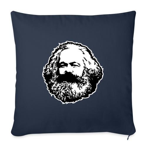 Karl Marx - Copricuscino per divano, 45 x 45 cm