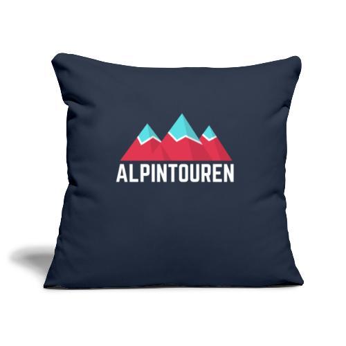 Alpintouren Logo - Sofakissenbezug 44 x 44 cm