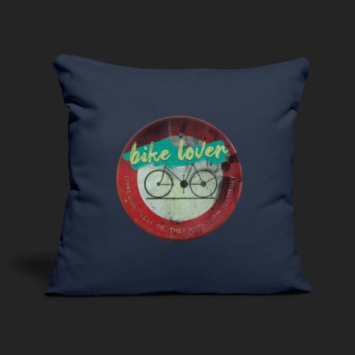 Bike lover - Housse de coussin décorative 45x 45cm