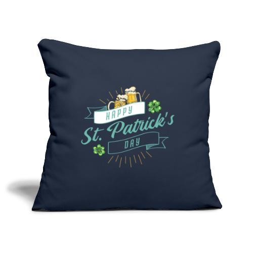 Happy St. Patrick`s Day - Sofakissenbezug 44 x 44 cm