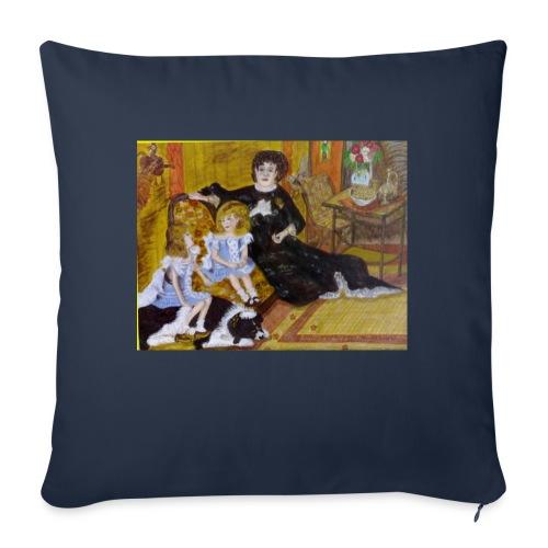 MADAME_CHARPENTIER - Copricuscino per divano, 45 x 45 cm