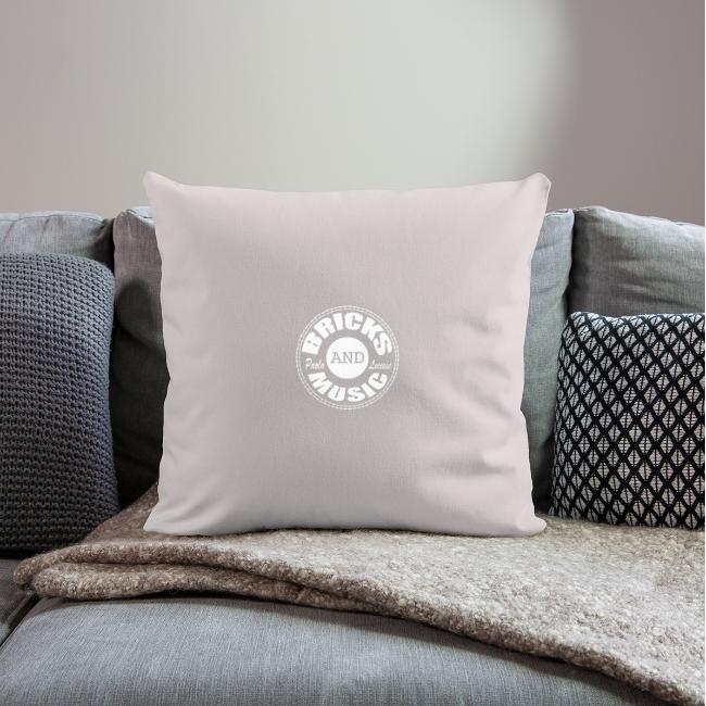 Logo bricks and music WHITE