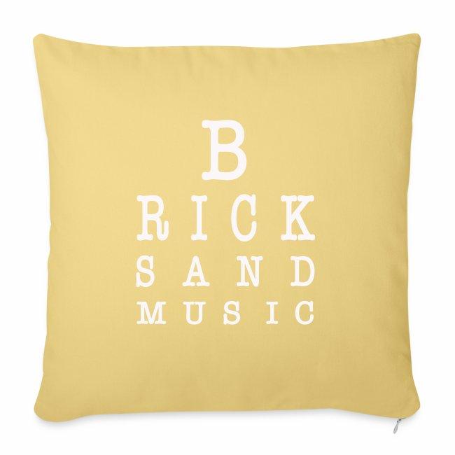 Bricks and Music lettere oculista