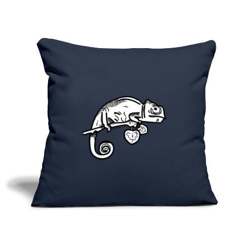camaleonte - Copricuscino per divano, 45 x 45 cm