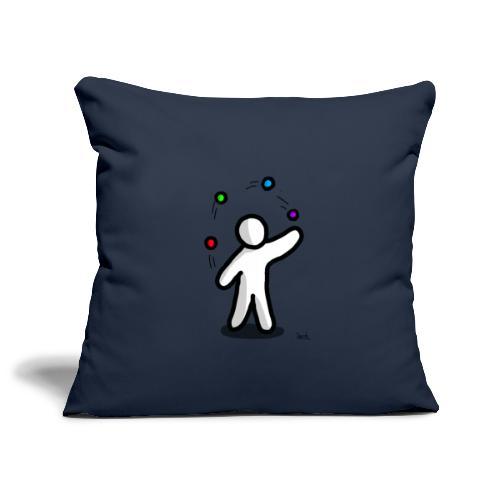 white man giocoliere - Copricuscino per divano, 45 x 45 cm