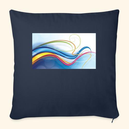 T-Shirts waves vector 2018 - Sierkussenhoes, 45 x 45 cm