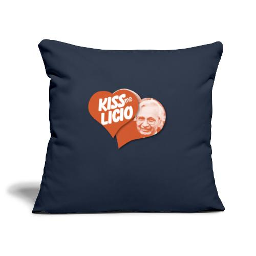 Kiss Me Licio - Copricuscino per divano, 45 x 45 cm