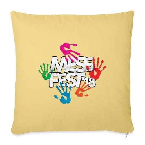 Mess Fest '18 - Sofa pillowcase 17,3'' x 17,3'' (45 x 45 cm)