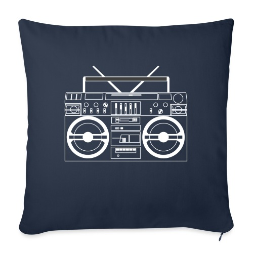 Boombox - WA - Sofa pillowcase 17,3'' x 17,3'' (45 x 45 cm)