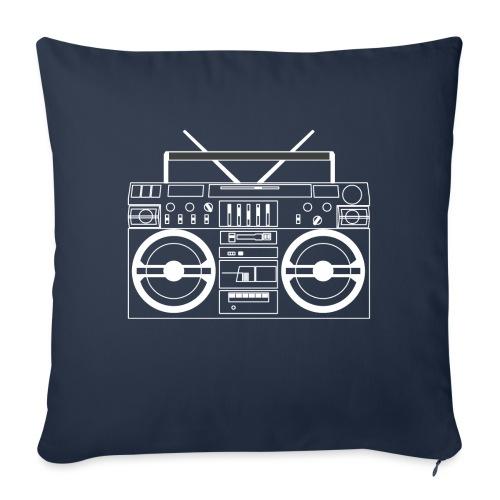 Boombox - WA - Sofa pillowcase 17,3'' x 17,3'' (45 x 45 cm)