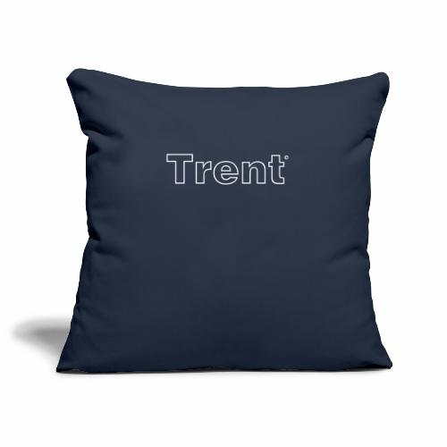 TRENT classic white - Sofa pillowcase 17,3'' x 17,3'' (45 x 45 cm)
