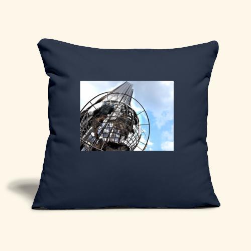 Globo americano - Copricuscino per divano, 45 x 45 cm
