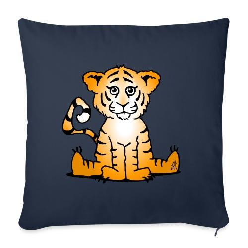 Tiger cub - Sofa pillowcase 17,3'' x 17,3'' (45 x 45 cm)