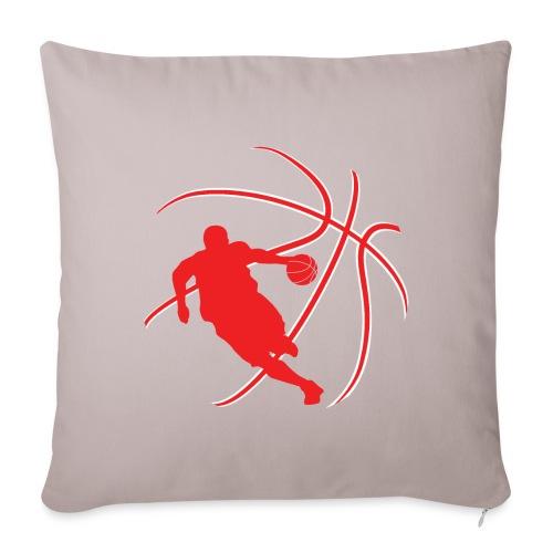 Basketball - Sofa pillowcase 17,3'' x 17,3'' (45 x 45 cm)