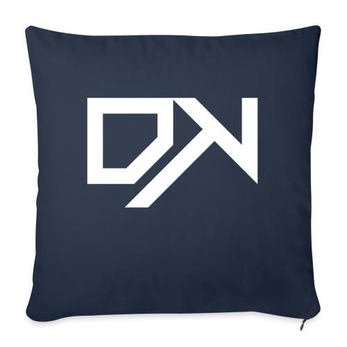 DewKee Logo Cap White - Sofa pillowcase 17,3'' x 17,3'' (45 x 45 cm)