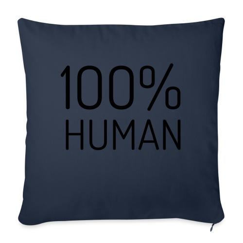 100% Human - Sierkussenhoes, 45 x 45 cm