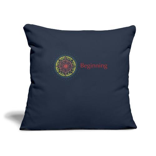 Beginning - Sofa pillowcase 17,3'' x 17,3'' (45 x 45 cm)