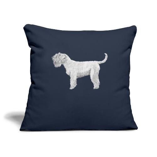 Soft Coated Wheaten Terrier - Pudebetræk 45 x 45 cm