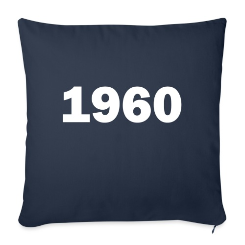 1960 - Sofa pillowcase 17,3'' x 17,3'' (45 x 45 cm)