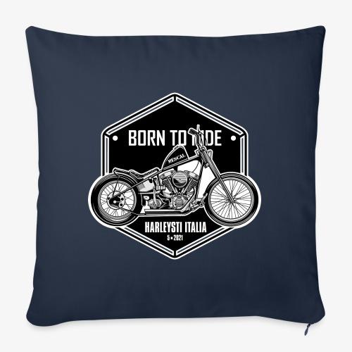 Born to Ride - Vintage motorbike - Copricuscino per divano, 45 x 45 cm