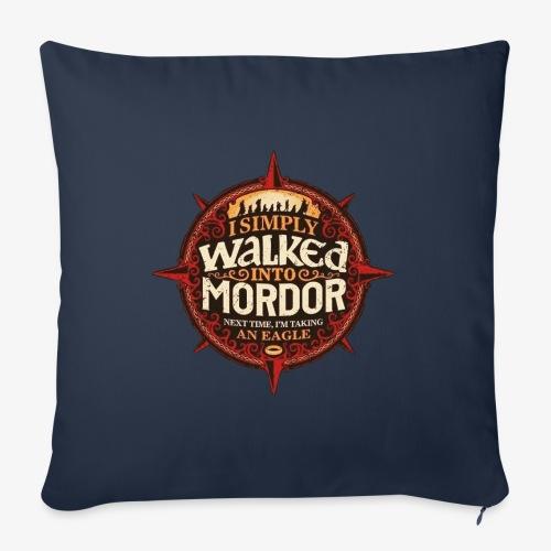 I just went into Mordor - Sofa pillowcase 17,3'' x 17,3'' (45 x 45 cm)