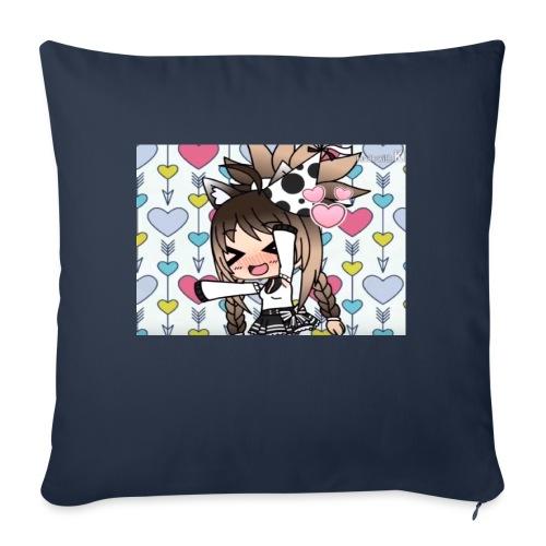Urodzinowa Yuki! - Poszewka na poduszkę 45 x 45 cm