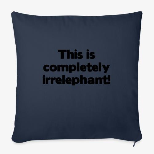 Irrelephant - Sofakissenbezug 44 x 44 cm