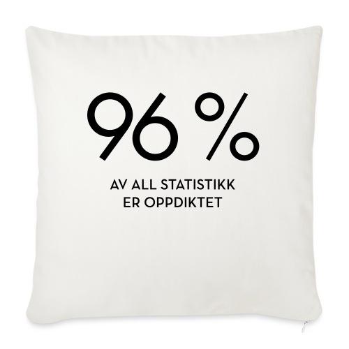 Statistikk-sprøyt (fra Det norske plagg) - Sofaputetrekk 45 x 45 cm