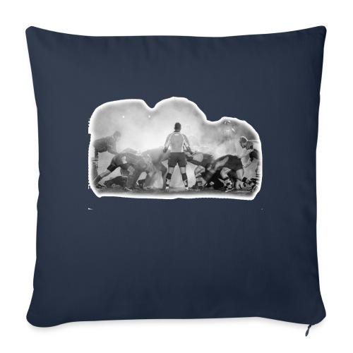 Rugby Scrum - Sofa pillowcase 17,3'' x 17,3'' (45 x 45 cm)