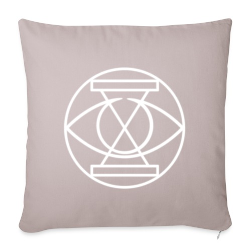 NEON BurnDownLogo png - Sofa pillowcase 17,3'' x 17,3'' (45 x 45 cm)