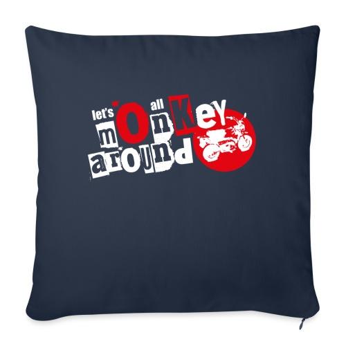 Monkey Around T-Shirt - Sofa pillowcase 17,3'' x 17,3'' (45 x 45 cm)