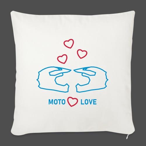 moto miłość - Poszewka na poduszkę 45 x 45 cm