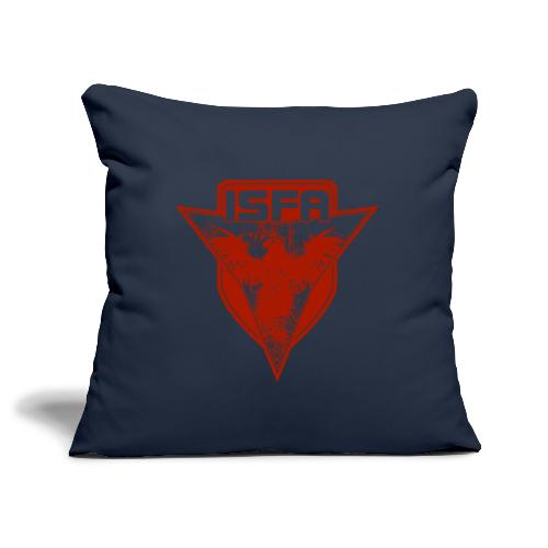 isfa logo 1c rot - Sofakissenbezug 44 x 44 cm