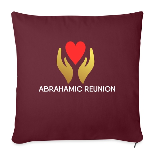 Abrahamic Reunion - Sofa pillowcase 17,3'' x 17,3'' (45 x 45 cm)
