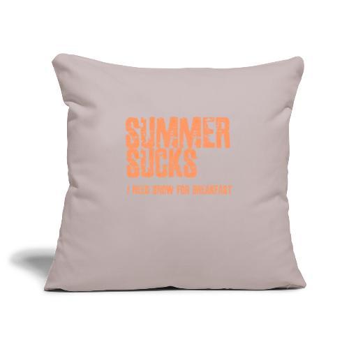 SUMMER SUCKS - Sierkussenhoes, 45 x 45 cm