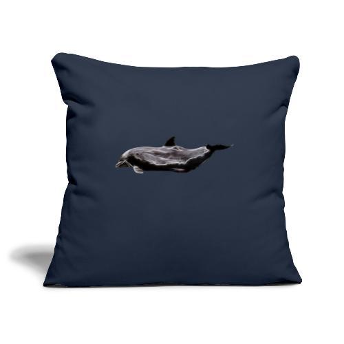 dolphin - Funda de cojín, 45 x 45 cm