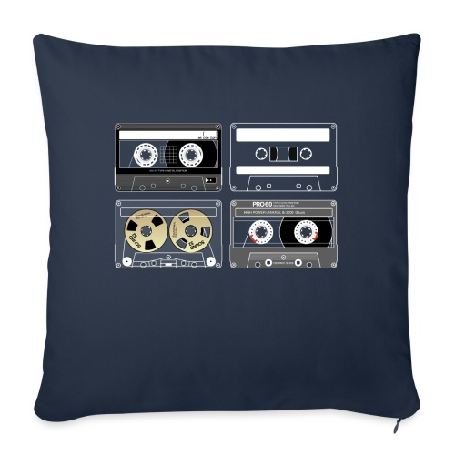 4 cassettes - Sofa pillowcase 17,3'' x 17,3'' (45 x 45 cm)