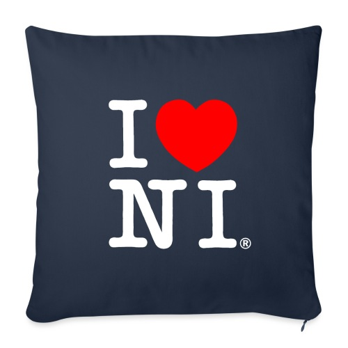 I love NI - Sofa pillowcase 17,3'' x 17,3'' (45 x 45 cm)