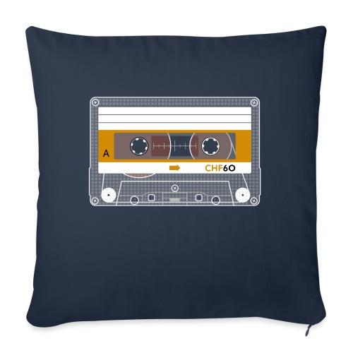 Cassette CHF - Sofa pillowcase 17,3'' x 17,3'' (45 x 45 cm)